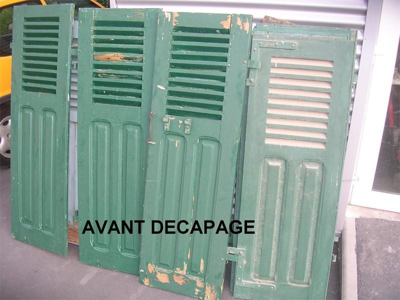 R nover volet porte radiateur adrm aux 3 moulins - Renovation volet bois ...